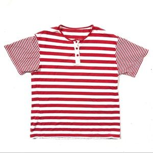 Cute soft striped vintage t-shirt